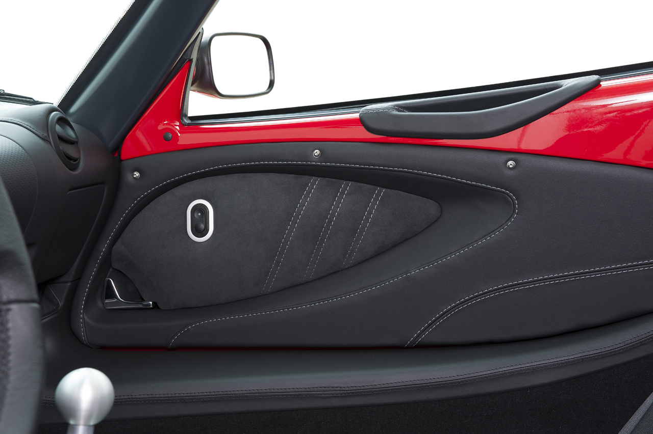 Elise Sport 220 interior door detail
