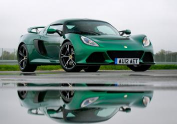 Exige S, Green, Hethel, Track, Reflection
