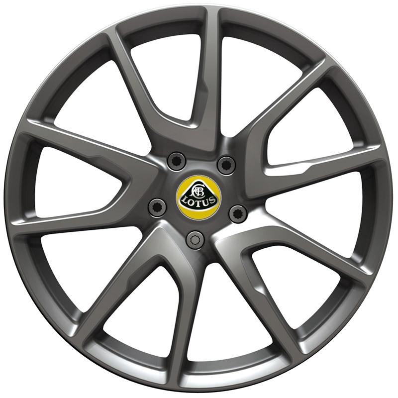 Evora 400 cast wheel in silver