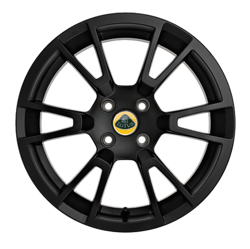 Elise S Standard Y Type Cast Wheel - Black