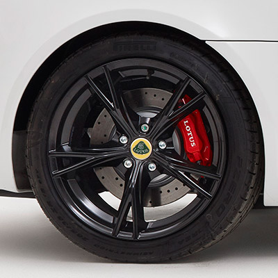 Exige alloy wheel
