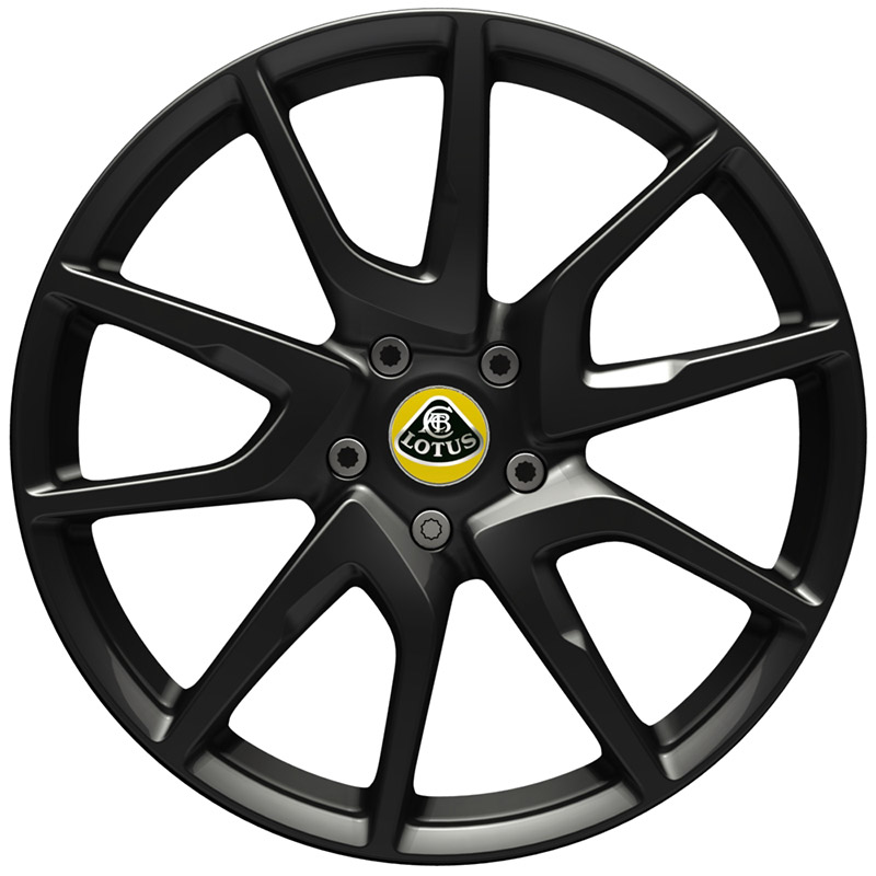 Evora 400 cast wheel in black