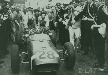 Stirling Moss Monaco - Lotus climax 18 - 1st