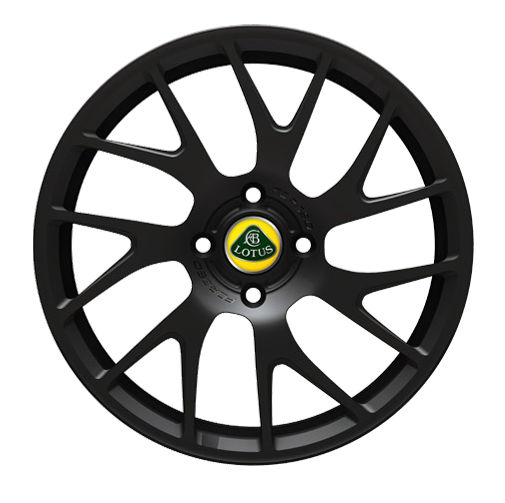 Elise 14 spoke Forged wheel - Black