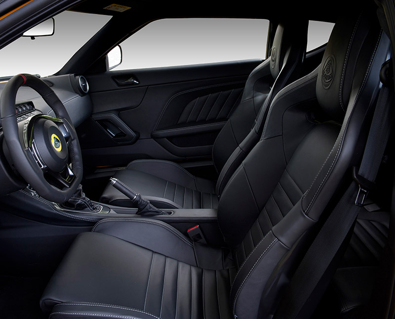 Evora 400 interior feature